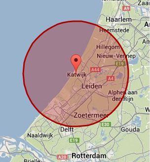 Werkgebied Katwijk